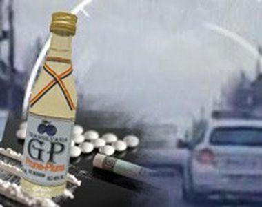 VIDEO | Un șofer băut,  drogat și fără permis s-a luat la întrecere cu polițiștii....