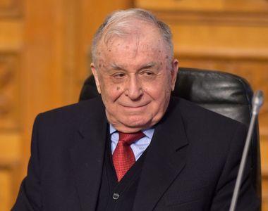 """Ion Iliescu, despre """"teroriștii"""" de la Revoluție: """"E păcat că nu au fost judecați ca..."""
