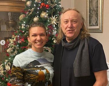 Simona Halep, colindată de Ştefan Hruşcă în seara de Ajun