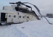 Cel puţin 15 răniţi în Siberia, în urma răsturnării la aterizare a unui elicopter de tip Mi-8