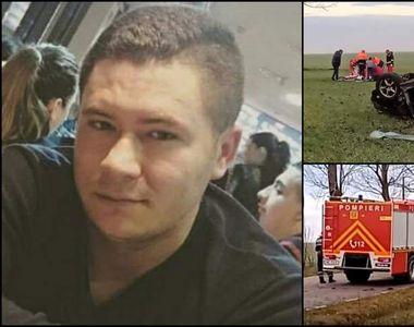 Ultimele cuvinte ale lui Bogdan, poliţistul mort în prima zi de Crăciun în cumplitul...