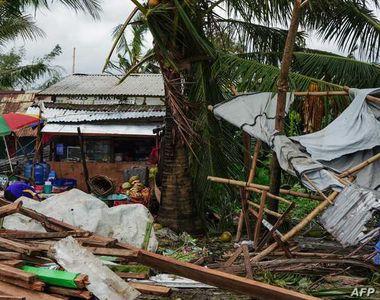 Crăciunul în Filipine, afectat de taifunul Phanfone