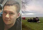 VIDEO | Polițistul care s-a răsturnat cu mașina nu a avut nicio șansă. Descoperirea făcută la locul accidentului