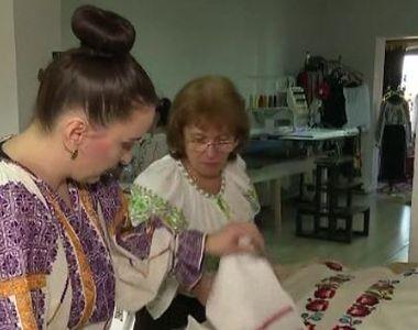 VIDEO | Afacere din pasiunea pentru costumele populare românești