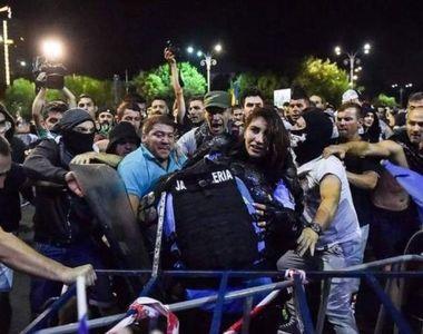 Agresorii jandarmeriței de la protestele din 10 august scapă de închisoare! Ștefania...
