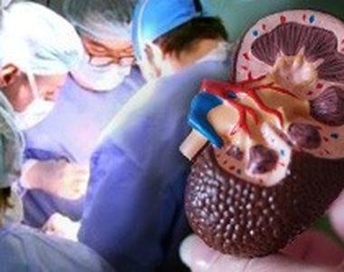VIDEO | Caz medical uimitor. O nouă viață, cu patru rinichi