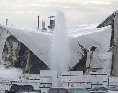 Cel puţin 15 oameni răniţi, într-o explozie la o fabrică de avioane din Wichita, Kansas