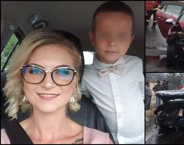 O tânără de 27 de ani și fiul ei în vârstă de 5 ani au sfârșit tragic într-un accident...