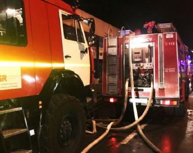 Doi morţi şi un rănit, într-un incendiu produs la o exploatare de petrol şi gaze a...