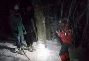 Doi turişti din Bucureşti s-au aventurat pe munte fără a fi echipaţi, fără a cunoaşte traseul şi fără a avea lanterne