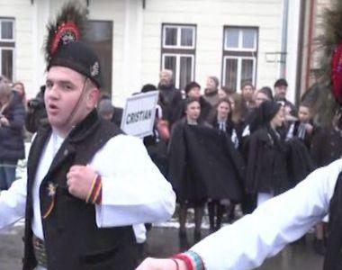 VIDEO | Parada junilor Sibiului, imagini inedite