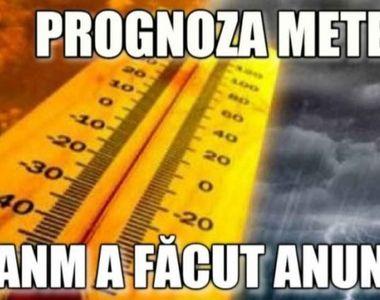 Meteorologii anunţă temperaturi apropiate de normalul perioadei şi cantităţi reduse de...