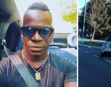 Mario Balotelli a fost implicat într-un accident rutier minor