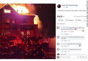 Pompierii din Detroit care s-au fotografiat în faţa unei case în flăcări vor fi anchetaţi