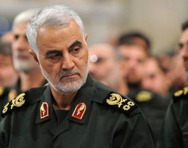Generalul iranian Qassem Soleimani, ucis în urma atacurilor aeriene care au vizat...