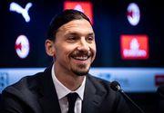 Ibrahimovici a semnat cu AC Milan şi va evolua cu numărul 21