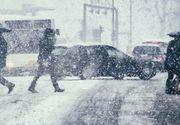 Meteo alert! Intensificări ale vântului şi ninsori, în cea mai mare parte a ţării, până luni seară