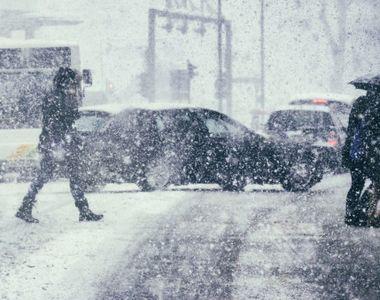 Meteo alert! Intensificări ale vântului şi ninsori, în cea mai mare parte a ţării, până...