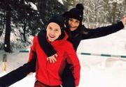 VIDEO | Iubitul Andreei Antonescu, la un pas să rămână paralizat după un accident teribil pe pârtia de schi din Azuga