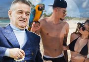 """""""Perla lui Gigi Becali"""", vacanță de vis în Republica Dominicană! Florinel Coman și-a luat iubita și au făcut show pe plajă!"""