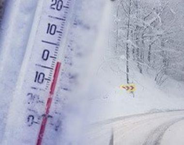 VIDEO | Iarna și-a intrat cu adevărat în drepturi. Ninsori abundente și viscol