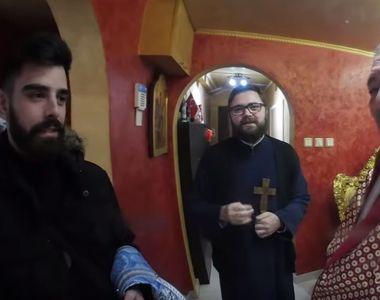 Nelson Mondialu, tatăl lui Livian de la Puterea dragostei, a primit preotul în casă de...