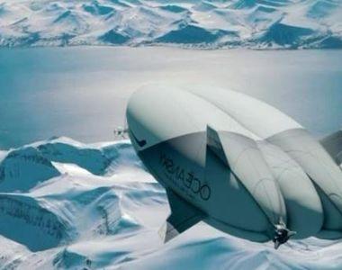 VIDEO   Zbor de lux spre Polul Nord. Totul costă 50.000 de euro