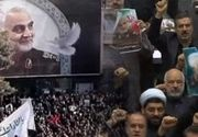 VIDEO | Carnagiu la înmormântarea generalului iranian Soleimani