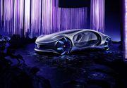"""""""Creatura vie"""", mașina inspirată din filmul Avatar, prezentată de Mercedes în cadrul târgului de tehnologie CES 2020"""