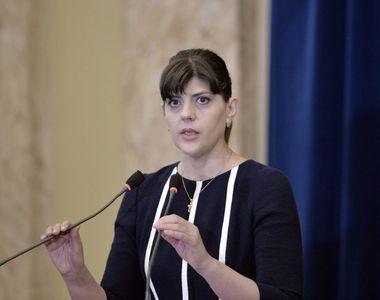 Cum a fost surprinsă Laura Codruța Kovesi în biroul Procurorului Public European din...