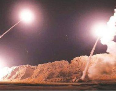 VIDEO | Atac cu rachete în Zona Verde din Bagdad, una dintre ele căzând la 100 de metri...