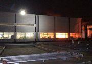 Incendiu puternic în Capitală,  la Fabrica Electromontaj. A fost trimis mesaj RO-ALERT!