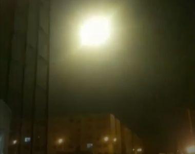 S-a aflat! A fost surprins momentul în care o rachetă iraniana lovește avionul...