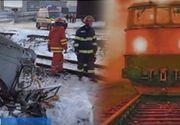 VIDEO | Frați loviți de tren. Imagini cu accidentul înfiorător