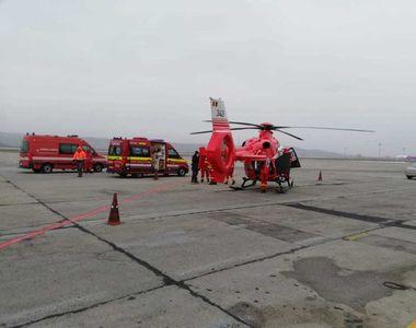 Elicopterul SMURD de la Jibou a revenit pe Aeroportul Internaţional Cluj-Napoca, unde...