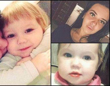 O fetiță de doi ani a murit în chinuri groaznice după ce a fost lasată singură în casă...