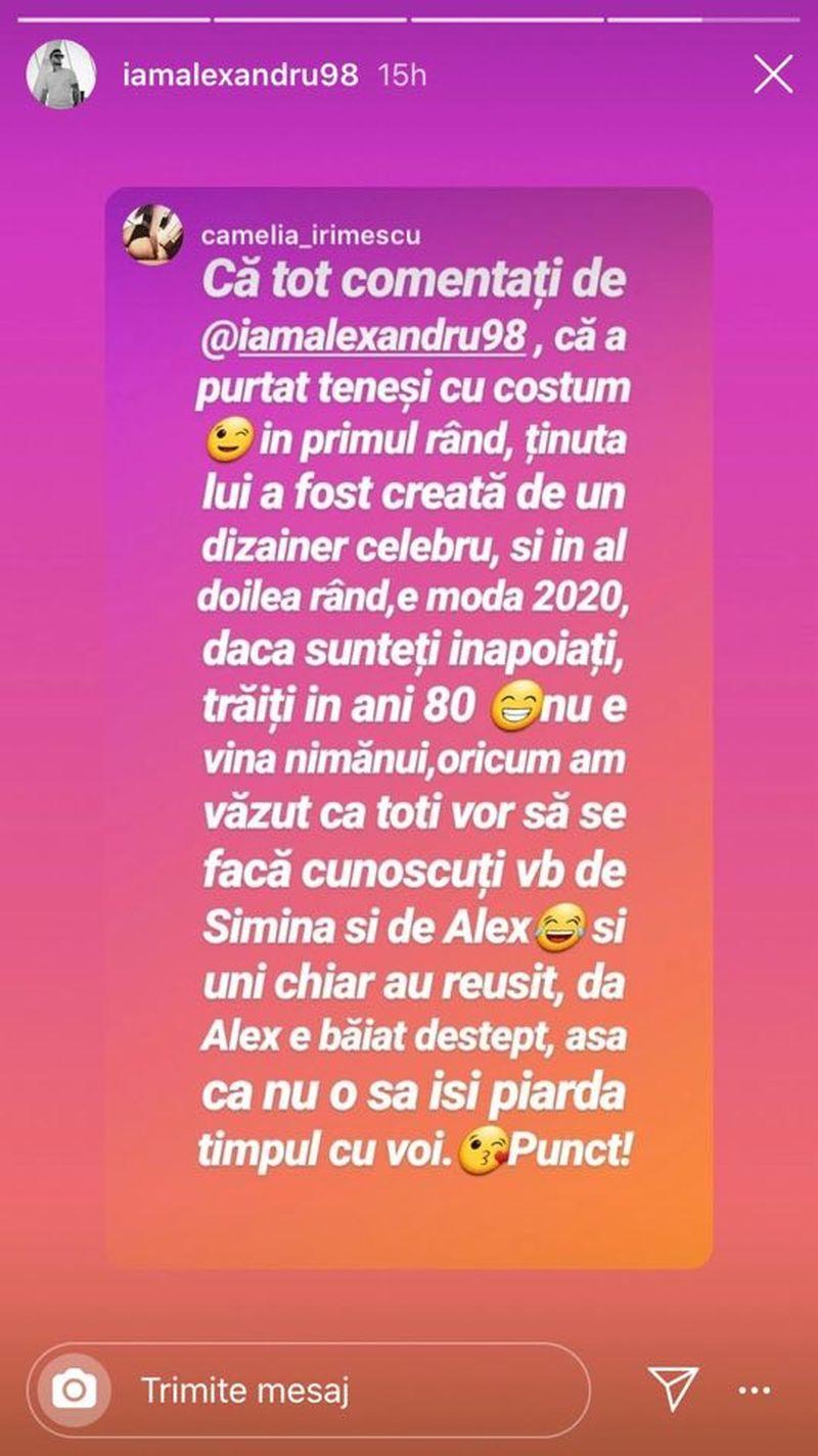 """Alex Zănoagă criticat dur de fani, după ținuta pe care a purtat-o la cununia cu Simina de la """"Puterea Dragostei"""""""