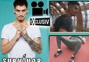 Imagini halucinante cu Emanuel Neagu de la Survivor România în aeroportul din Paris. Și-a aruncat papucul de la etaj | VIDEO EXCLUSIV