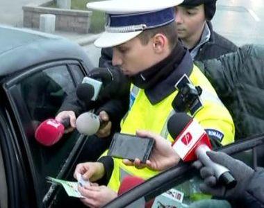 VIDEO | Val de amenzi pentru șoferii din Capitală. Pentru ce au fost sancționați
