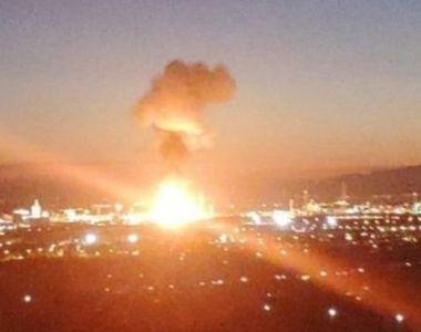 Spania: explozie la o fabrică de produse chimice. Un bărbat aflat la 3 kilometri...