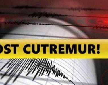 Cutremur puternic la granița României, miercuri seara