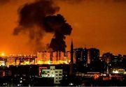 Atacuri aeriene în Fâşia Gaza vizând ţinte Hamas în urma unor tiruri de proiectile palestiniene