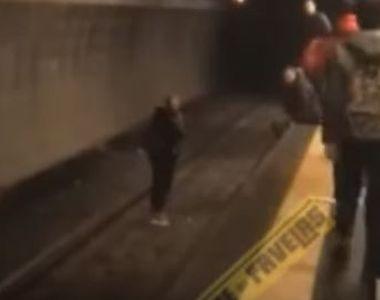 O tânără româncă din Italia a decis să-și ia viața și se aruncă pe liniile de metrou....