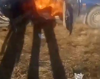 Gestul nebunesc făcut de un bărbat din Argeș: A făcut live pe Facebook în timp ce și-a...