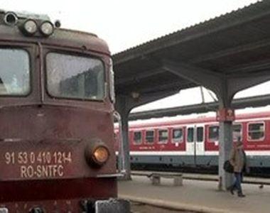 VIDEO | Cum a fost pusă în pericol, joi, viața călătorilor din trenurile CFR