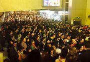Haos la metrou! Sute de călători au rămas blocați între stații