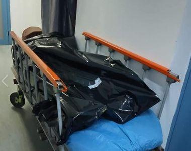 VIDEO | Cadavre pe holul Spitalului Universitar. Ministrul Sănătății a cerut o anchetă