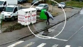 VIDEO | Amendă-record pentru un timișorean care a aruncat gunoi pe strada