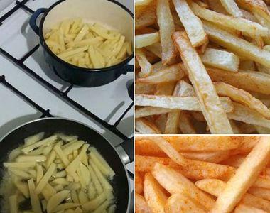 Greşeala care îți poate fi fatală: Să nu faci NICIODATĂ asta când prăjeşti cartofi