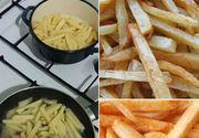 Cartofii prajiti sunt cancerigeni
